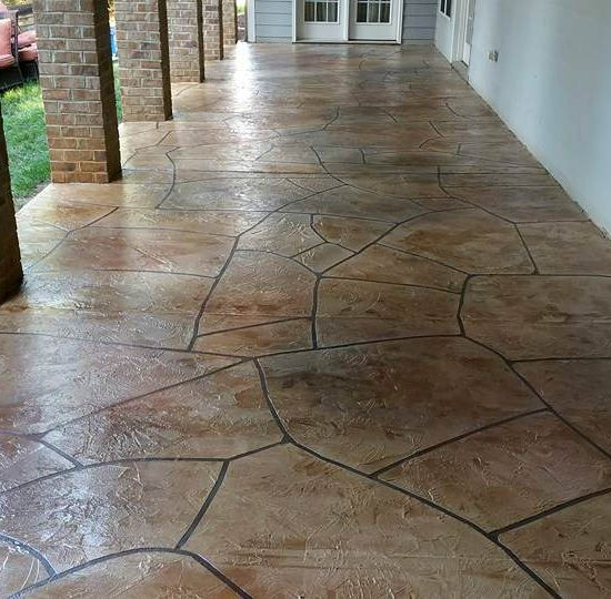 Stamped Concrete | Sidney Ohio