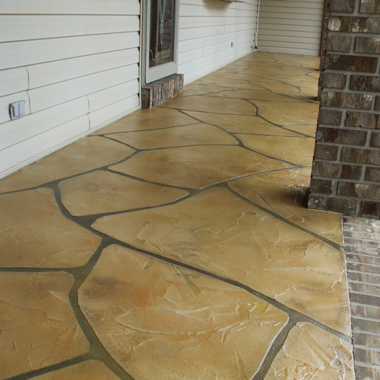 Grand Flagstone Concrete | Elsner Concrete Coatings