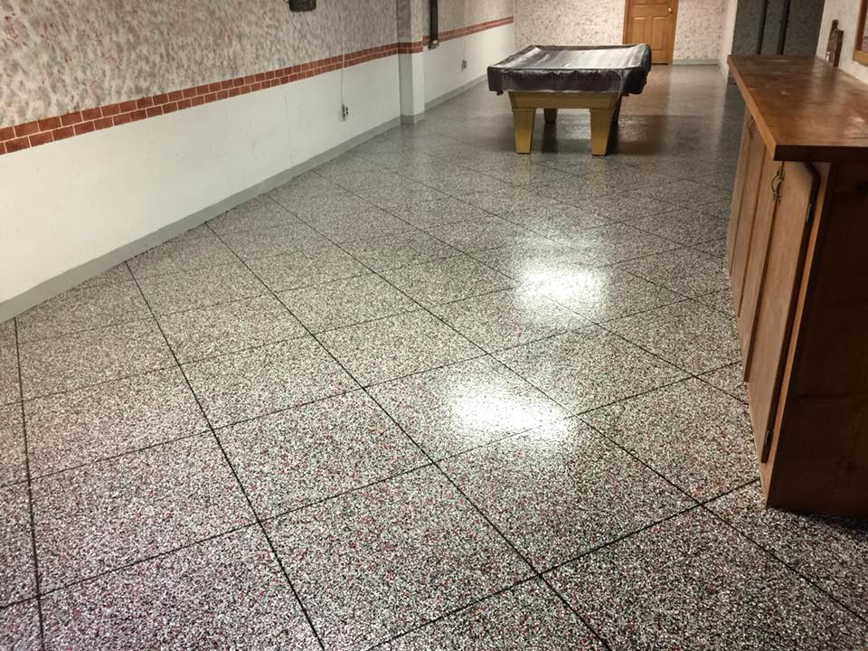 Epoxy Tile Flooring | Sidney Ohio