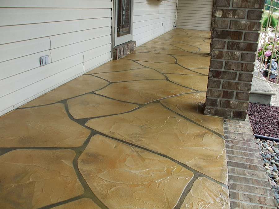Grand Flagstone Concrete | Sidney Ohio