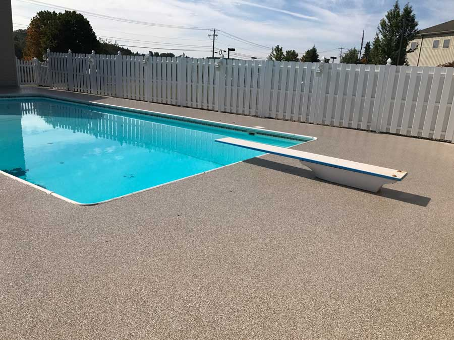 Graniflex Pool Deck | Sidney Ohio