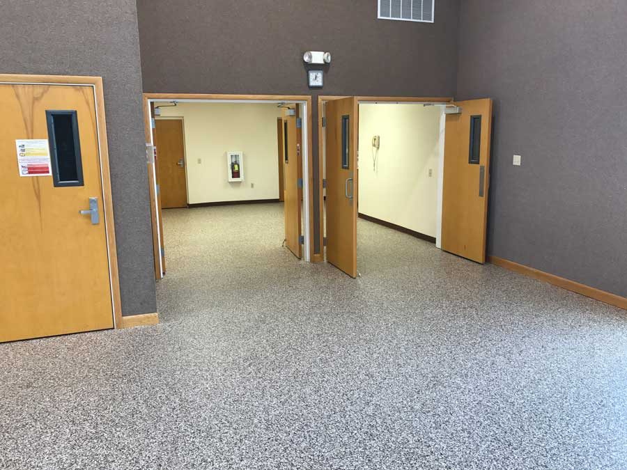 Commercial Graniflex Flooring | BelleFontaine Ohio