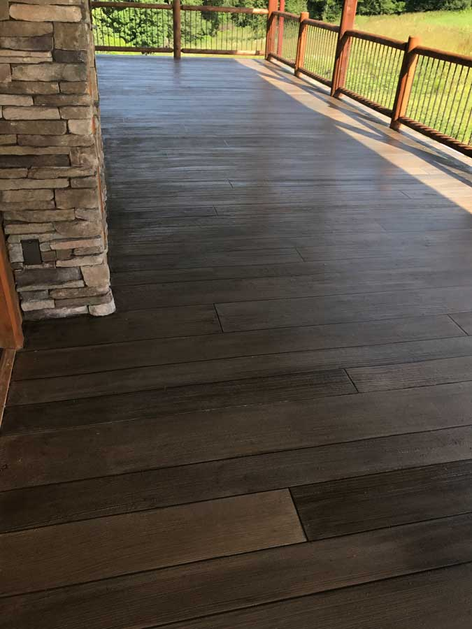 Rustic Concrete Wood | Sidney Ohio