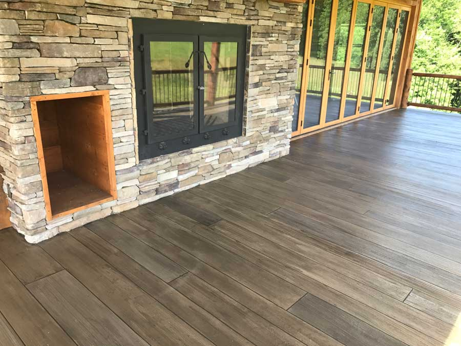 Rustic Concrete Wood | Piqua Ohio