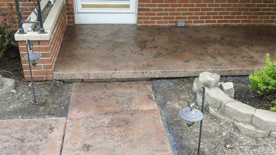 Slate Stained Concrete | Sidney Ohio